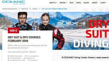 Dry suit & DPV courses February 2019